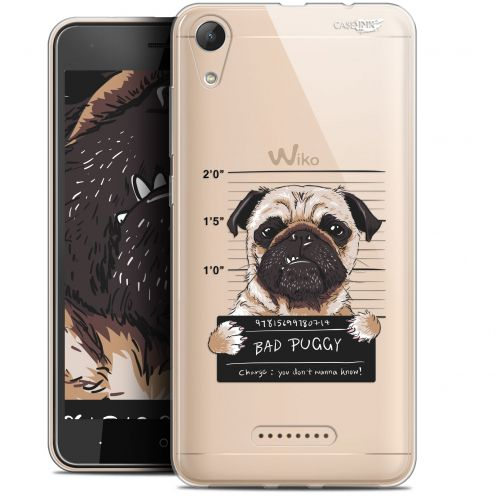 """Coque Gel Wiko Lenny 4 (5"""") Extra Fine Motif -  Beware The Puggy Dog"""