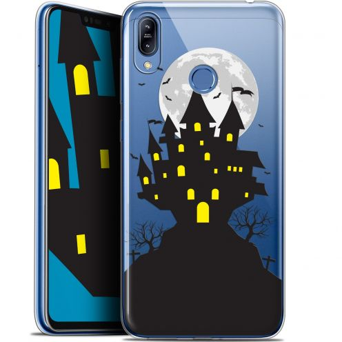 "Coque Gel Asus Zenfone Max (M2) ZB633KL (6.3"") Extra Fine Halloween - Castle Scream"