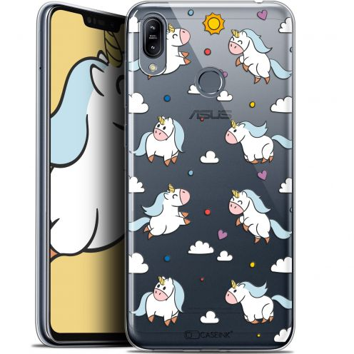 "Coque Gel Asus Zenfone Max (M2) ZB633KL (6.3"") Extra Fine Fantasia - Licorne In the Sky"