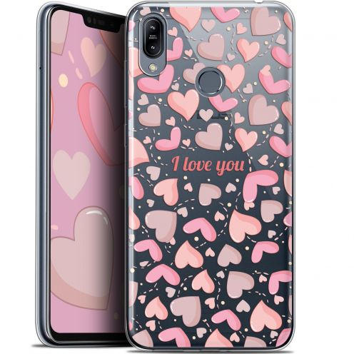 """Coque Gel Asus Zenfone Max (M2) ZB633KL (6.3"""") Extra Fine Love - I Love You"""