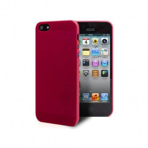 Coque Ultra Fine 0.3mm Frost iPhone 5 / 5S / SE Fuchsia