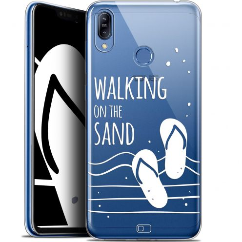"Coque Gel Asus Zenfone Max (M2) ZB633KL (6.3"") Extra Fine Summer - Walking on the Sand"
