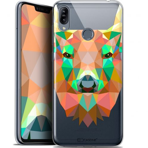 "Coque Gel Asus Zenfone Max (M2) ZB633KL (6.3"") Extra Fine Polygon Animals - Cerf"
