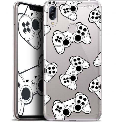 "Coque Gel Asus Zenfone Max (M2) ZB633KL (6.3"") Extra Fine Motif -  Game Play Joysticks"
