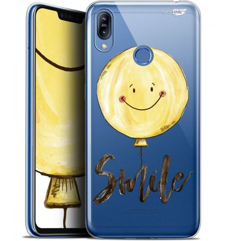 "Coque Gel Asus Zenfone Max (M2) ZB633KL (6.3"") Extra Fine Motif -  Smile Baloon"