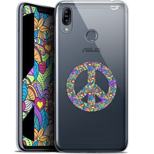 "Coque Gel Asus Zenfone Max (M2) ZB633KL (6.3"") Extra Fine Motif -  Peace And Love"