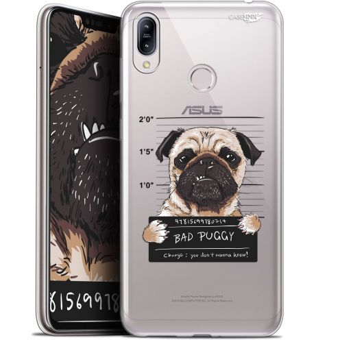"Coque Gel Asus Zenfone Max (M2) ZB633KL (6.3"") Extra Fine Motif -  Beware The Puggy Dog"