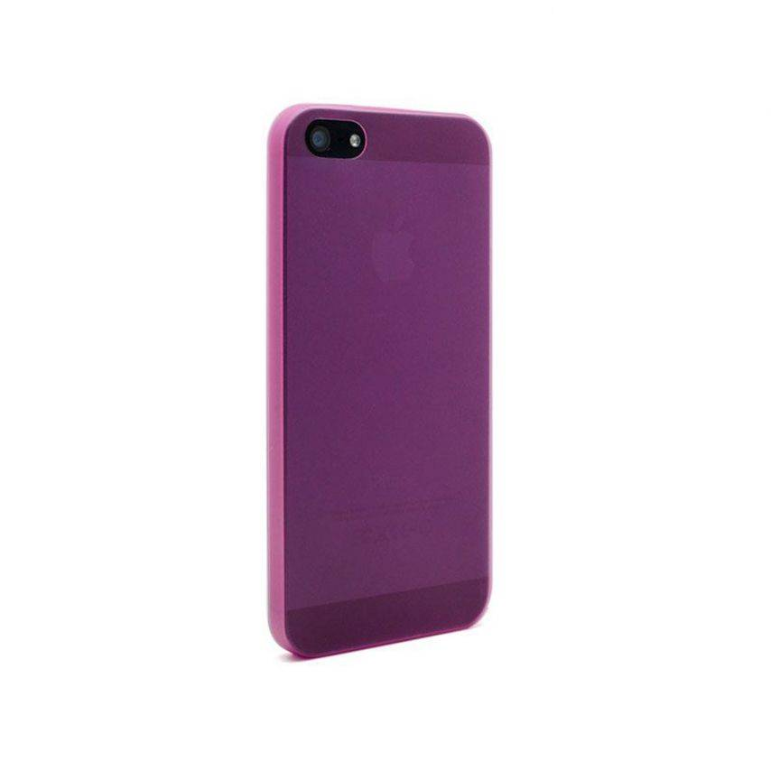 Visuel supplémentaire de Coque Ultra Fine0.3mm Frost iPhone 5 Rose