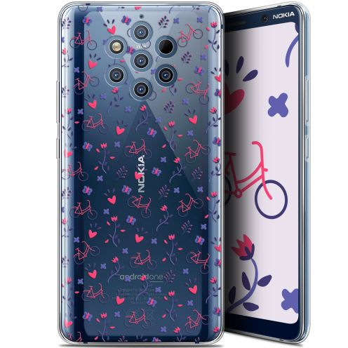 """Coque Gel Nokia 9 PureView (6"""") Extra Fine Love - Bicycle"""