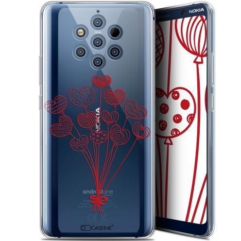 """Coque Gel Nokia 9 PureView (6"""") Extra Fine Love - Ballons d'amour"""