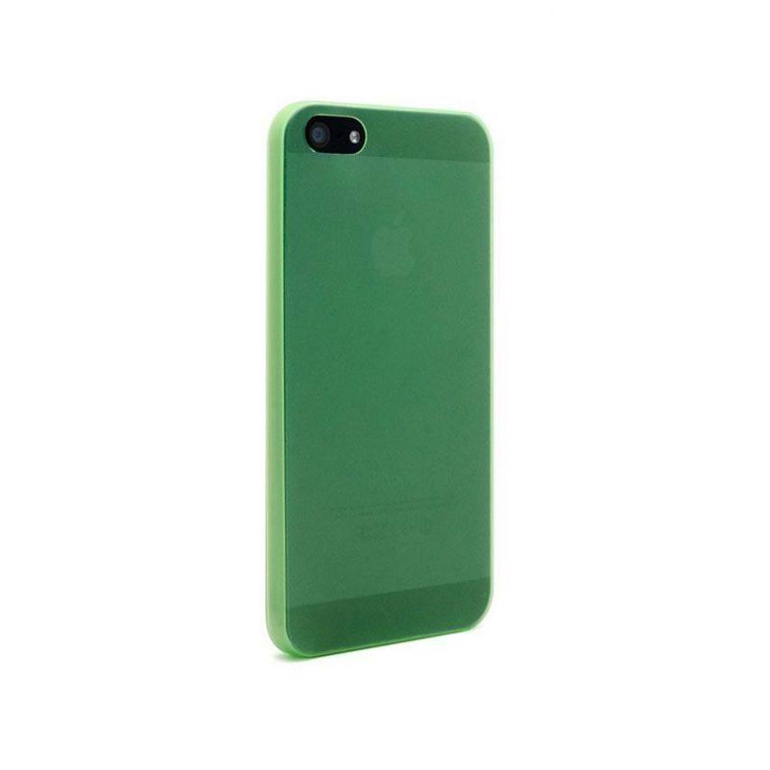 Visuel supplémentaire de Coque Ultra Fine0.3mm Frost iPhone 5 Verte