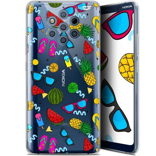 "Coque Gel Nokia 9 PureView (6"") Extra Fine Motif - Summers"