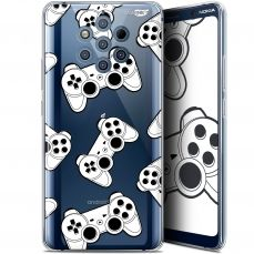 "Coque Gel Nokia 9 PureView (6"") Extra Fine Motif -  Game Play Joysticks"