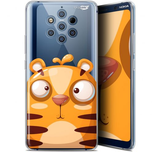 "Coque Gel Nokia 9 PureView (6"") Extra Fine Motif -  Cartoon Tiger"