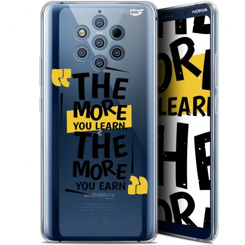 "Coque Gel Nokia 9 PureView (6"") Extra Fine Motif -  The More You Learn"