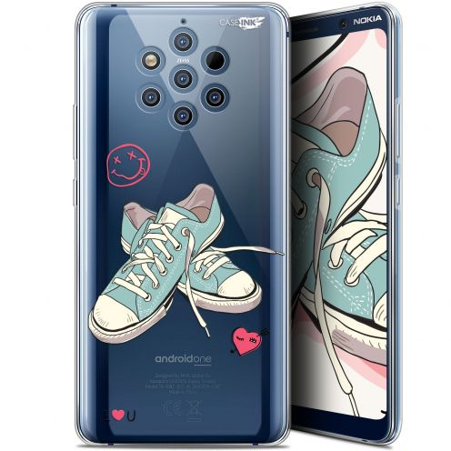 """Coque Gel Nokia 9 PureView (6"""") Extra Fine Motif -  Mes Sneakers d'Amour"""