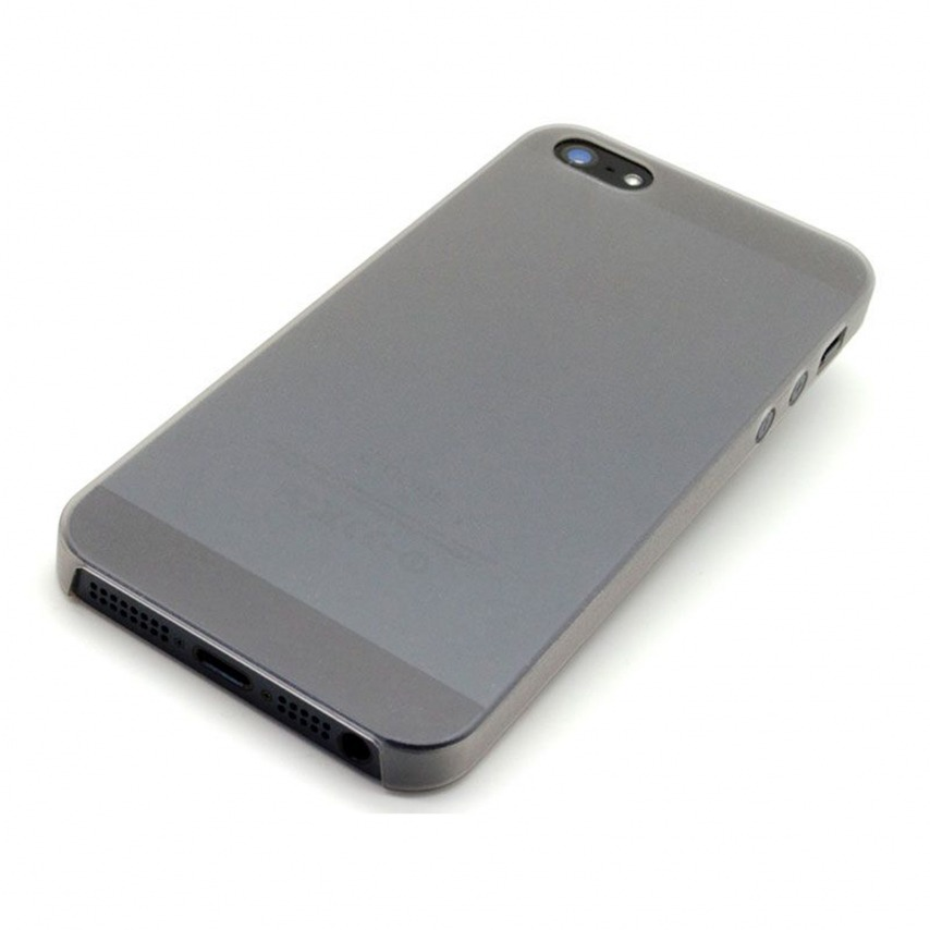 Visuel unique de Coque Ultra Fine0.3mm Frost iPhone 5 Blanche