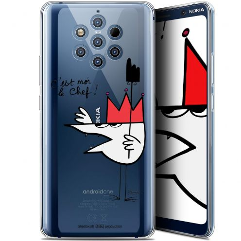 """Coque Gel Nokia 9 PureView (6"""") Extra Fine Les Shadoks® - Le Chef"""