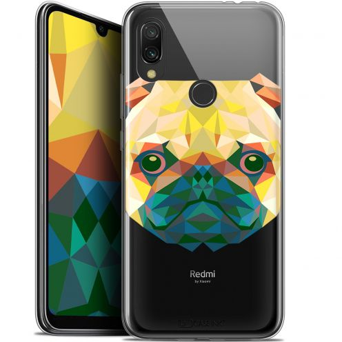 "Coque Gel Xiaomi Redmi 7 (6.26"") Extra Fine Polygon Animals - Chien"