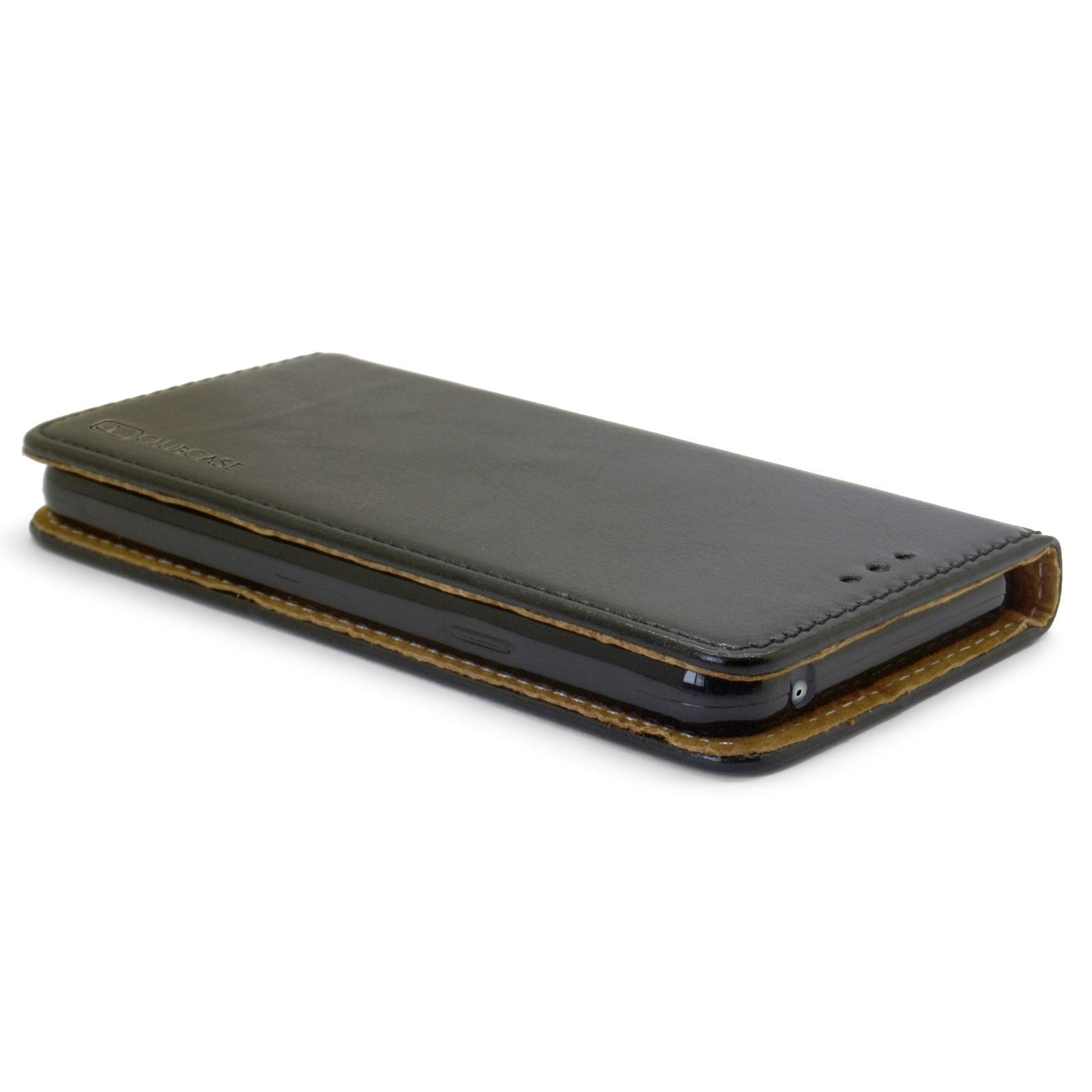 coque folio stand souple samsung galaxy a3 2016 a310 cuir v ritable noir. Black Bedroom Furniture Sets. Home Design Ideas