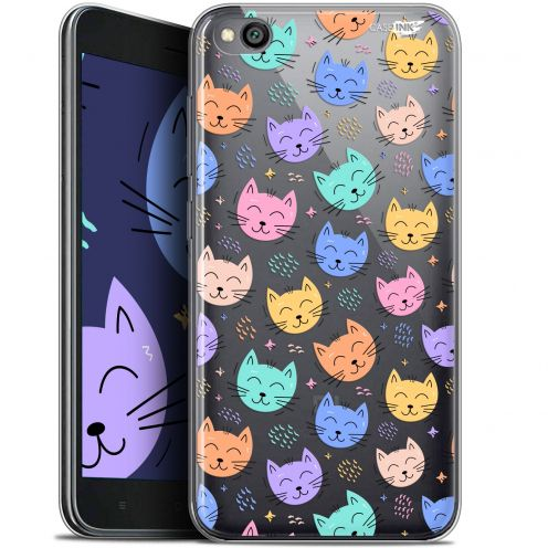 "Coque Gel Xiaomi Redmi Go (5"") Extra Fine Motif -  Chat Dormant"