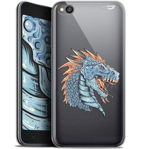 "Coque Gel Xiaomi Redmi Go (5"") Extra Fine Motif -  Dragon Draw"