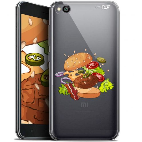 "Coque Gel Xiaomi Redmi Go (5"") Extra Fine Motif -  Splash Burger"