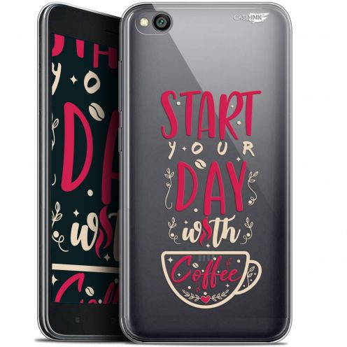 "Coque Gel Xiaomi Redmi Go (5"") Extra Fine Motif -  Start With Coffee"