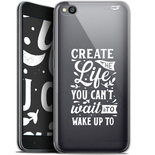 "Coque Gel Xiaomi Redmi Go (5"") Extra Fine Motif -  Wake Up Your Life"