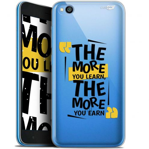 "Coque Gel Xiaomi Redmi Go (5"") Extra Fine Motif -  The More You Learn"