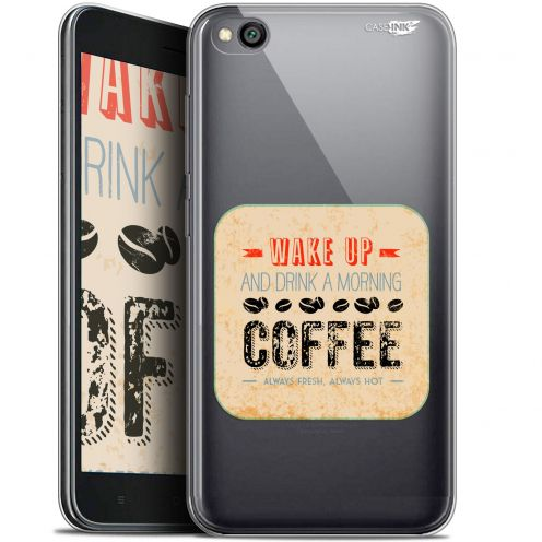 "Coque Gel Xiaomi Redmi Go (5"") Extra Fine Motif -  Wake Up With Coffee"