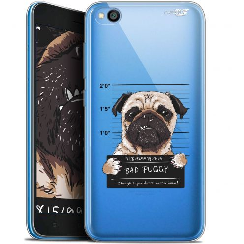 "Coque Gel Xiaomi Redmi Go (5"") Extra Fine Motif -  Beware The Puggy Dog"