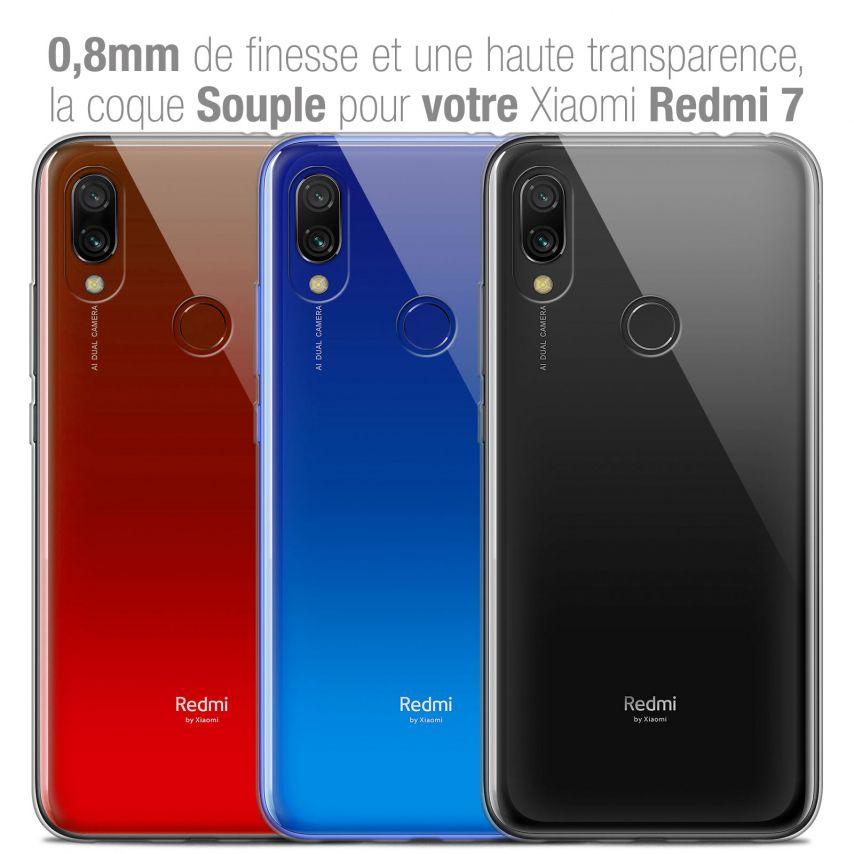 "Coque Xiaomi Redmi 7 (6.26"") Extra Fine Souple Crystal Clear"