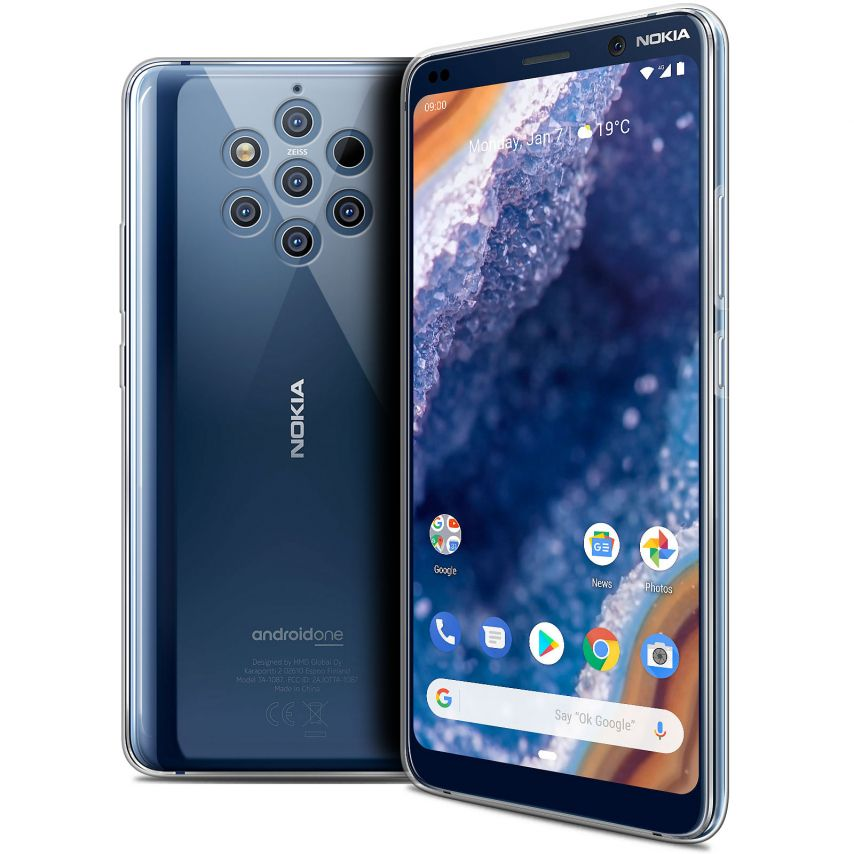 """Coque Nokia 9 PureView (6"""") Extra Fine Souple Crystal Clear"""