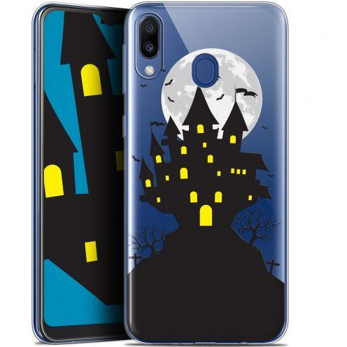 "Coque Gel Samsung Galaxy M20 (6.3"") Extra Fine Halloween - Castle Scream"