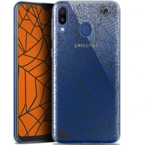 "Coque Gel Samsung Galaxy M20 (6.3"") Extra Fine Halloween - Spooky Spider"