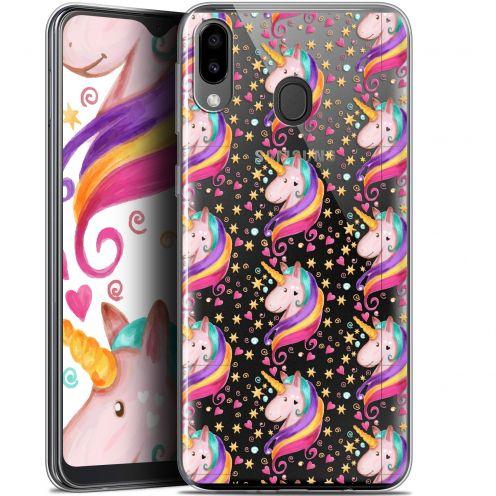 "Coque Gel Samsung Galaxy M20 (6.3"") Extra Fine Fantasia - Licorne Etoilée"