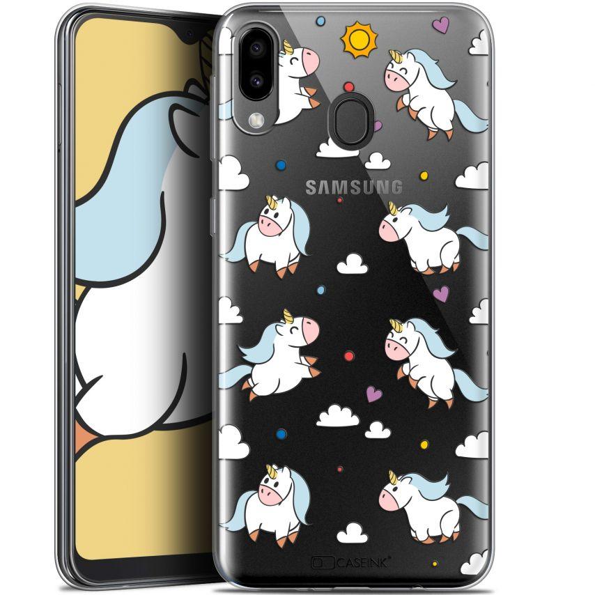 "Coque Gel Samsung Galaxy M20 (6.3"") Extra Fine Fantasia - Licorne In the Sky"