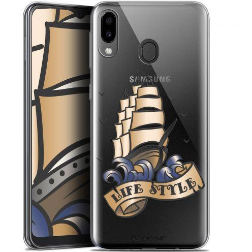 """Coque Gel Samsung Galaxy M20 (6.3"""") Extra Fine Tatoo Lover - Fashion"""