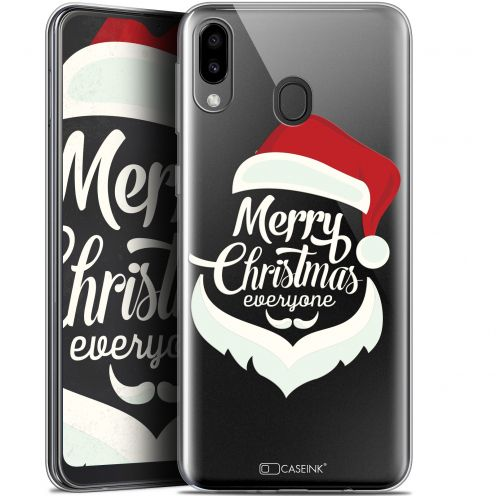 "Coque Gel Samsung Galaxy M20 (6.3"") Extra Fine Noël 2017 - Merry Everyone"