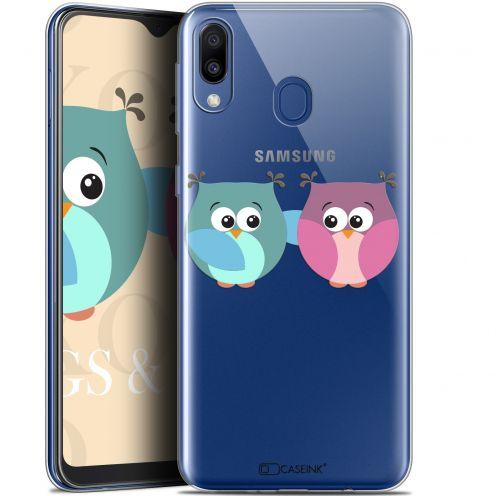 "Coque Gel Samsung Galaxy M20 (6.3"") Extra Fine Love - Hibous à deux"