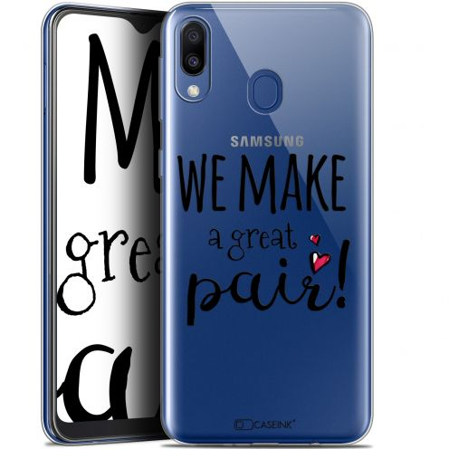"""Coque Gel Samsung Galaxy M20 (6.3"""") Extra Fine Love - We Make Great Pair"""