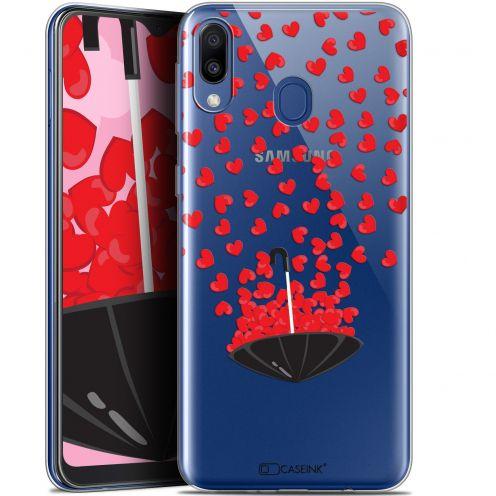 """Coque Gel Samsung Galaxy M20 (6.3"""") Extra Fine Love - Parapluie d'Amour"""