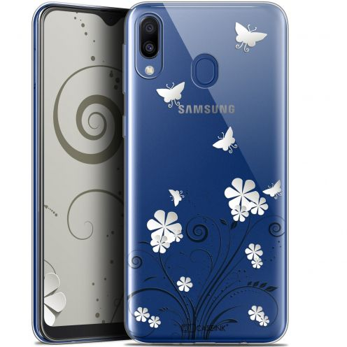 "Coque Gel Samsung Galaxy M20 (6.3"") Extra Fine Summer - Papillons"