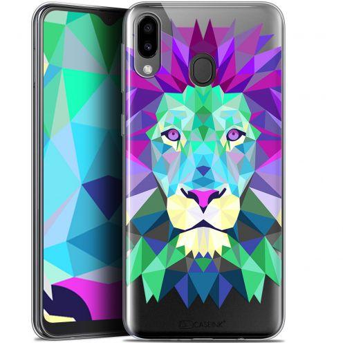 "Coque Gel Samsung Galaxy M20 (6.3"") Extra Fine Polygon Animals - Lion"