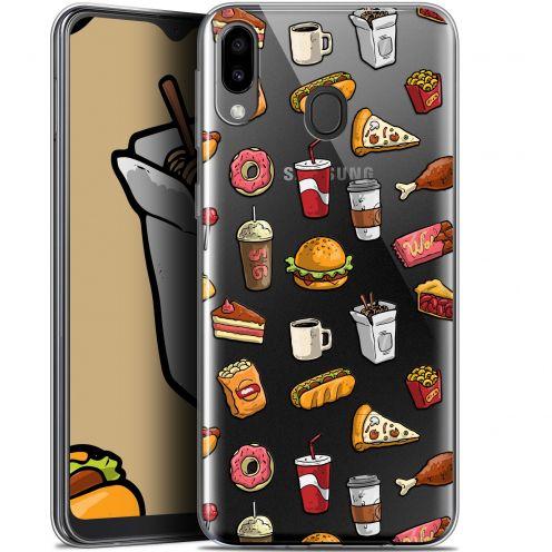 """Coque Gel Samsung Galaxy M20 (6.3"""") Extra Fine Foodie - Fast Food"""