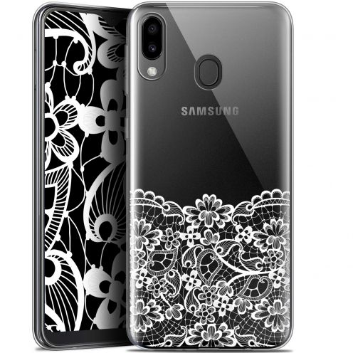 "Coque Gel Samsung Galaxy M20 (6.3"") Extra Fine Spring - Bas dentelle"