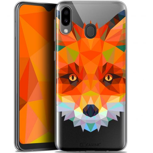 "Coque Gel Samsung Galaxy M20 (6.3"") Extra Fine Polygon Animals - Renard"