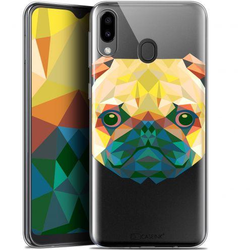 "Coque Gel Samsung Galaxy M20 (6.3"") Extra Fine Polygon Animals - Chien"