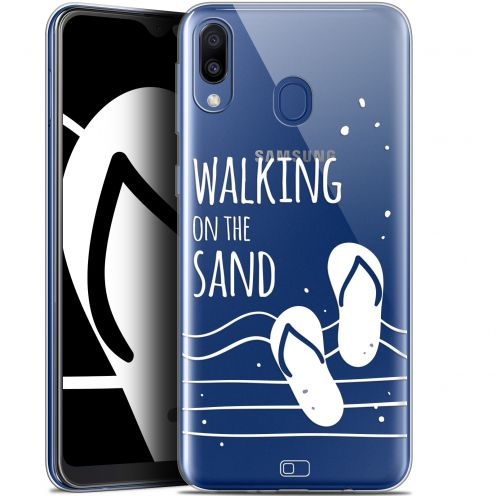 "Coque Gel Samsung Galaxy M20 (6.3"") Extra Fine Summer - Walking on the Sand"